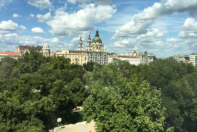 La vista desde nuestra habitación. Foto © Silvia Lucero