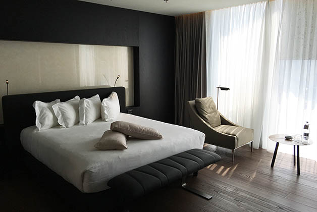 Nuestra cama. Foto © Silvia Lucero
