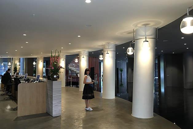 Lobby del hotel. Foto © Patrick Mreyen
