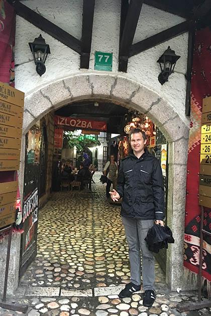 Entrando al Moricá Han. Foto © Silvia Lucero