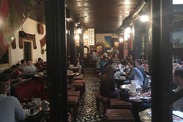 Café Divan. Foto © Silvia Lucero