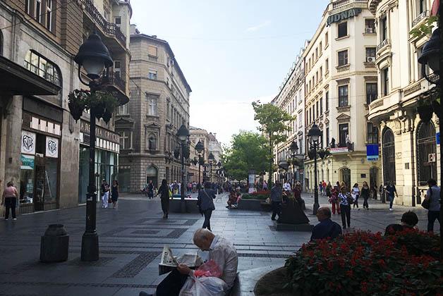 Cale comercial Knez Mihailova. Foto © Silvia Lucero