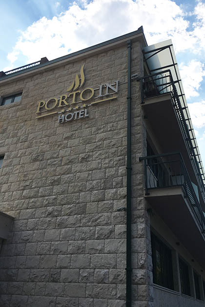 Hotel Porto In en Kotor. Foto © Silvia Lucero