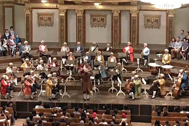 La Orquesta de Mozart. Foto © Patrick Mreyen