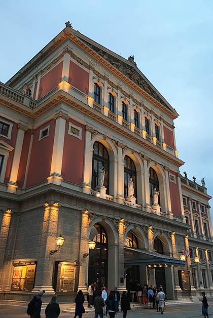 Musikverein. Foto © Silvia Lucero