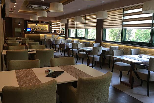 Restaurante del hotel. Foto © Silvia Lucero