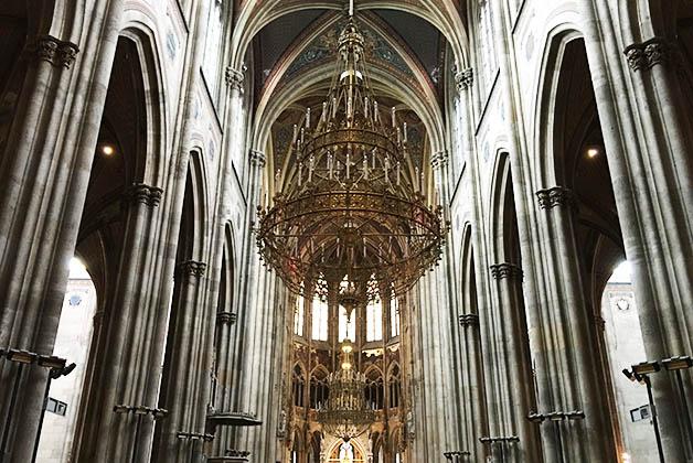 Interior de la Iglesia Votiva. Foto © Patrick Mreyen